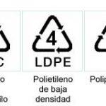 Diferentes tipos de plástico